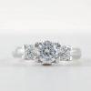 3 Stone Engagement Ring #E30001