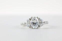 3 Stone Engagement Ring #E30002