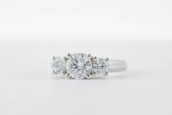 3 Stone Engagement Ring #E30003