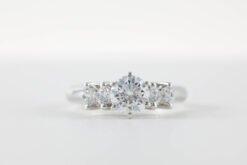 Multi-Stone Engagement Rings
