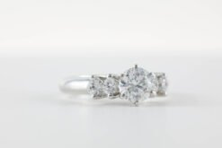 Multi-Stone Engagement Ring #MSE00001