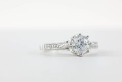 Multi-Stone Engagement Ring #MSE00003
