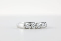 Wedding Bands With Stones #WS00002