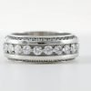 Wedding Bands With Stones #WS00007